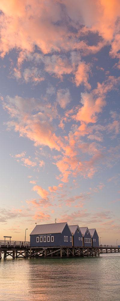 BUJ50d - Busselton Jetty Sunset