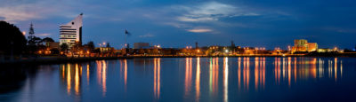 Bunbury City Skyline photography
