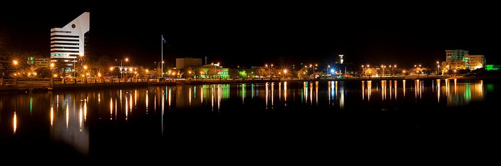 BUN16e - Bunbury City at Night