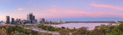 Perth City from Kings Park landscape photography