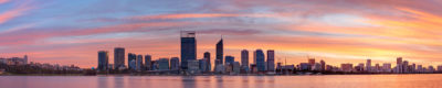 Perth City Skyline image