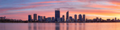 Perth City Skyline photography