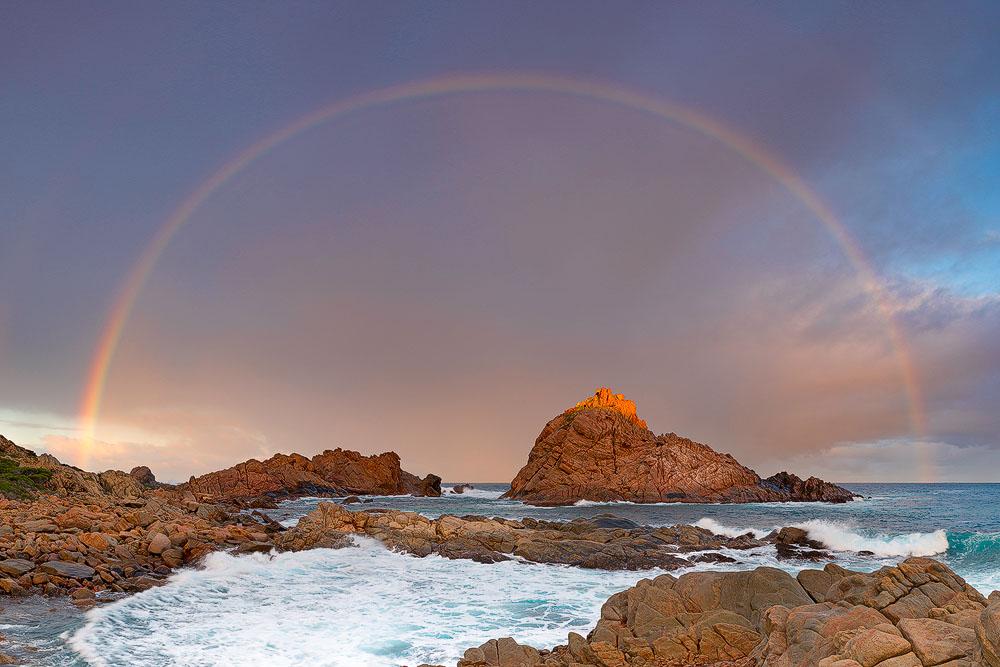 SUR12b - Sugarloaf Rock Rainbow