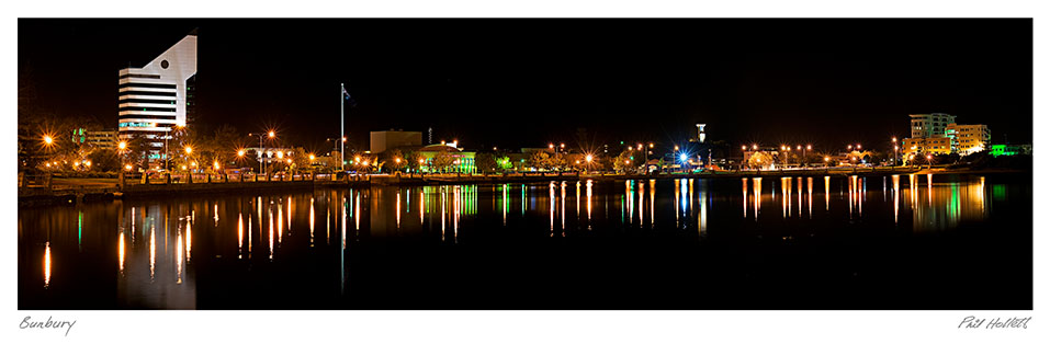 BUN16 - Bunbury City Skyline, Large Desktop