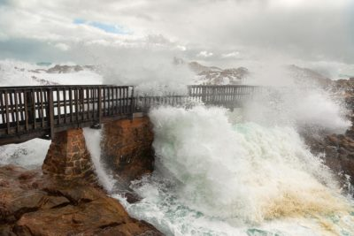 Canal Rocks Storm